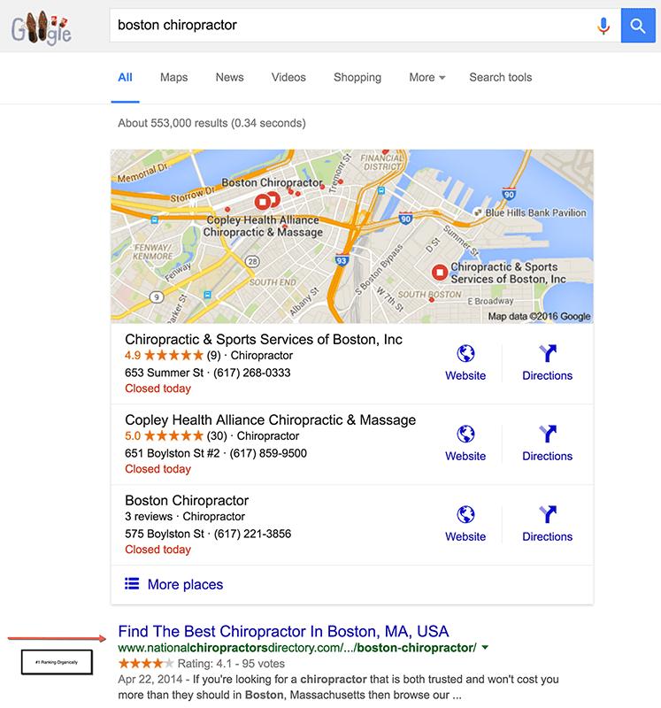 Boston Chiropractor #1 Ranking